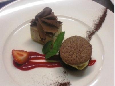 Dessert Creativi Ristorante Trattoria della Colonna San Nicolo Piacenza